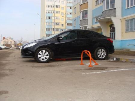 Выбираем парковочные барьеры
