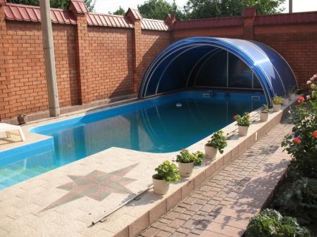 Раздвижные навесы для бассейнов