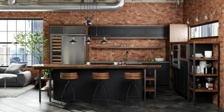 Кухня в стиле лофт: преимущества и недостатки
